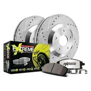 For Bmw Z3 98-02 Brake Kit Power Stop 1-click Street Warrior Z26 Drilled And