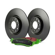 For Chevy Uplander 05 Ebc Stage 14 Light Truck And Suv Plain Rear Brake Kit