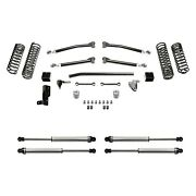 For Jeep Wrangler 18 Fabtech 3 X 3 Trail Front And Rear Suspension Lift Kit