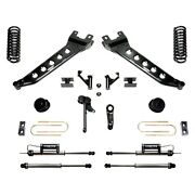 For Ram 3500 13-18 Fabtech 5 X 2 Radius Arm Front And Rear Suspension Lift Kit