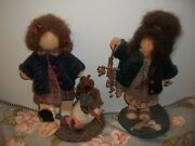 Lizzie High Golden Goose And Herb Girl Dolls Full Size
