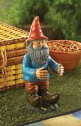 Gnome Holder Can Buddy Gnome - Perfect For Your Backyard Garden - Accent Plus