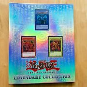 Yugioh Legendary Collection 1 Binder Complete With 6x Packs And God Cards 2010