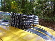 1959 Cadillac Front Bumper Grille Corners- Bright And Beautiful Restored Pair