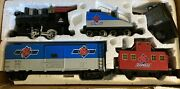 Vintage Aristo Craft G Scale Rc Cola Express Set Train Track And Power Supply