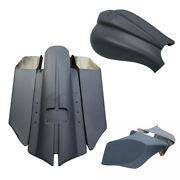 Saddlebags Rear Fender Gas Tank Dash Panel Cover Fit For Harley Touring 14-21