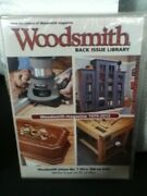 Woodsmith Magazine Back Issue Library Dvd Works Great On Pc And Mac