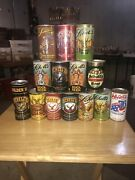 Lot Of 14 Different Schell's Beer Cans