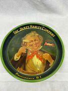 1930's James Hanley Beer Tray Ale Brewing Providence Narragansett The Connoisse