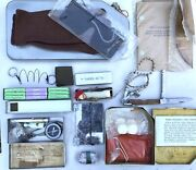 Soviet Air Force Surplus Naz-7m Survival Kit From Su-27 Jet Ejection Seat