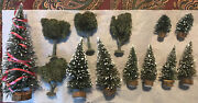 Lot Of 13 Woodland Scenics Trees For O Scale Model Train Layouts