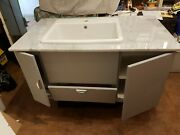 Caroma Cubus Basin With Marble Top Cabinet - Never Used