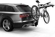 4-bike Trunk Mount Rack And Carriers Camber Hitch For Car Bike Sport