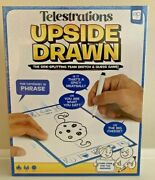 New Telestrations Upside Drawn - The Side-splitting Team Sketch And Guess Game