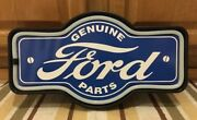 Ford Genuine Parts Led Light Mustang Vintage Style Truck Decor Man Cave Gas Oil