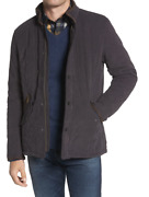 Barbour Bowden Menand039s Quilted Jacket Navy Perfect For Working From Home Msrp310