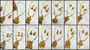 Lot Of 14 Wholesale Necklace Sets Kundan Pearl Gold Jewelry Gift Clearance Sale