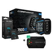 Compustar Cs7900as All-in-one 2-way Remote Start And Bladeal Bypass + X1lte Module
