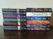 Vampire Academy + Bloodlines Series 1-6 Books Richelle Mead Complete Sets Hc Pb