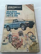 Chilton Manual For Mazda Pickups 1972-89 Us And Canadian Models