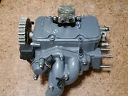 Honda Bf15 Outboard Cylinder Head Complete W/extraand039s Part 12200-zv4-010za