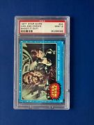 1977 Topps Star Wars 44 Han And Chewie Shoot It Out Psa 9