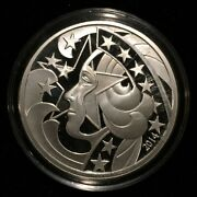 2014 Liberty's Glory Live Free - 1oz Silver Proof, Wastweet / Marks - Only 200