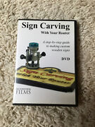 Sign Carving With Your Router169 Dvd