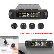 Battery Digital Lcd Auto Car Security Alarm Tpms Tyre Pressure Monitoring System