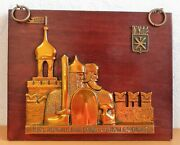 Vintage Wall Souvenir Tula Cultures And Ethnicities Soviet Ussr A