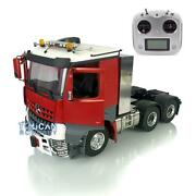 Lesu Toolbox Chassis Radio Hercules Painted Cab Rc 1/14 Metal 66 Tractor Truck