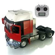 Lesu Metal Chassis 66 Radio Hercules Painted Cabin 1/14 Rc Tractor Truck Sound