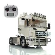 Lesu Metal Scania Chassis Sound Hercules Rc 1/14 44 Tractor Truck Radio Lights