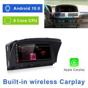 8-core Android 10 Car Gps Video Player Wireless Carplay For Bmw 7 Series E65 E66