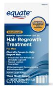 Equate Menand039s Hair Regrowth Topical Solution 5 Minoxidil 3 Or 6 Months Supply