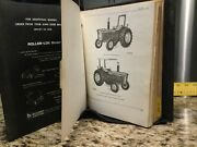 Vintage John Deere 1530and 2630 Tractors Parts Catalogs 4133 And 1401 W/binder Used