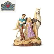 Disney Tangled Carved By Heart Jim Shore Statue - Rapunzel