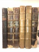 Leather Set David Hume's History Of England 1762 Rare First Edition Complete