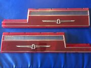 1977 - 1978 Thunderbird Nos Left And Right Mint Tail Light Lens Perfect Match