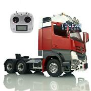 Lesu Metal 66 Chassis Radio Hercules Painted Actros Cabin 1/14 Rc Tractor Truck