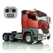 Lesu Tractor Truck Rc 1/14 Radio Hercules Painted Actros Cabin Metal 66 Chassis