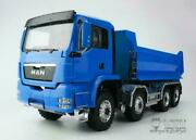 Lesu Front Hydraulic Lifting 1/14 88 Rc Dumper Truck Model Painted Man Sound
