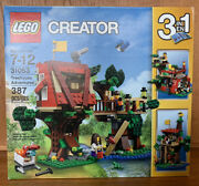 Retired Lego Creator Set 31053 Treehouse Adventures New And Factory Sealed