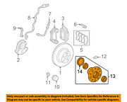 Mercedes Oem 10-15 E350-front Hub And Bearing 2123300025