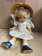 Vintage Antique Madame Alexander 13 Composition Doll As-is