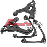 For Silverado 1500 Gmc Sierra Front Upper Lower Control Arm Ball Joint Kit 2wd