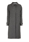 Stunning Officine Generale Macie Coat Black And White Eu 38 Uk M Rrp Andpound695 Sold Out