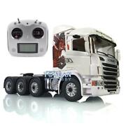 Lesu 1/14 Metal Chassis Rc Scania R730 88 Tractor Truck Gripen Hercules Cabin