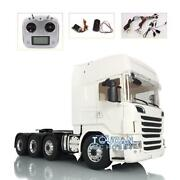 Lesu Hercules R730 Cab Tractor Truck Sound Radio 1/14 Metal 88 Scania Chassis