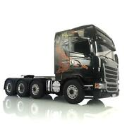 Lesu R730 Scania Tractor Truck Painted Hercules Cabin 1/14 Rc Metal 88 Chassis